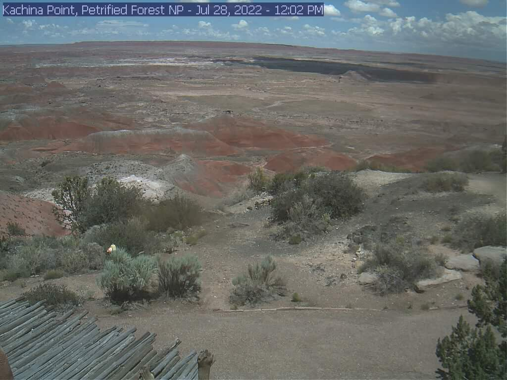 View from Kachina Point | Petrified Forest National Park | Petrified Forest National Park