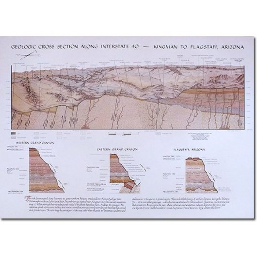 I-40 Cross Section Map