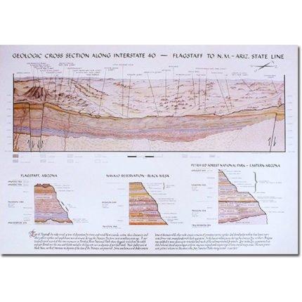 I-40 Cross Section Map - Opposite Side