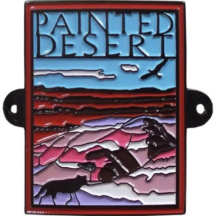 Painted Desert Hiking Stick Medallion