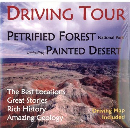 North to South Driving Tour of Petrified Forest National Park and the Painted Desert
