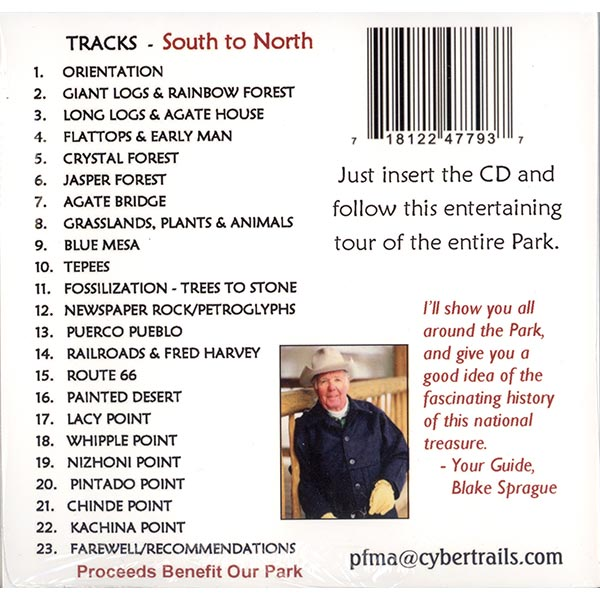 Audio Tour Table of Contents