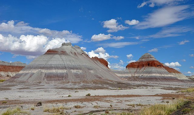 Petrified Forest Tepees | Photo courtesy of Wikipedia, Creative Commons License