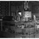 Painted Desert Inn Trading Post jewelry sales counter | Photo courtesy of Petrified Forest National Park