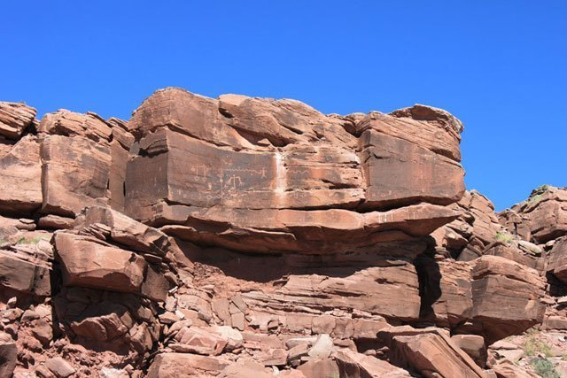 East Tank, a petroglyph site on the new boundary expansion | Photo courtesy of Petrified Forest National Park