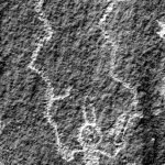 A petroglyph from the He Man site | Photo courtesy of Petrified Forest National Park