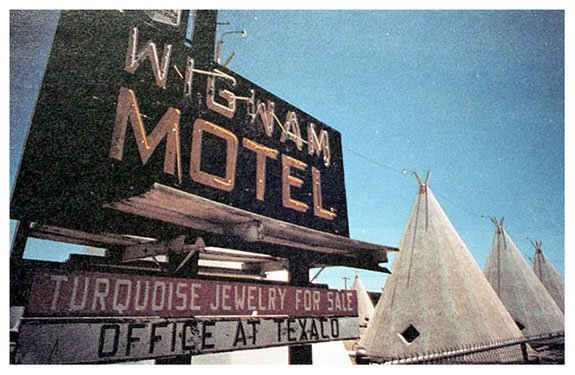 Wigwam Motel | Photo courtesy of Petrified Forest National Park
