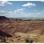 View of park from the Lion Farm along Route 66 | Photo courtesy of Petrified Forest National Park