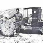 Dr. Charles Camp, Paleontologist 1930s | Photo courtesy of Petrified Forest National Park