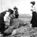 Naturalist John Muir at Petrified Forest, circa 1905 | Photo courtesy of Petrified Forest National Park