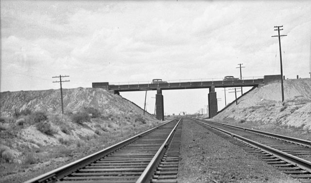 Overpass for Santa Fe Railroad - 1930s