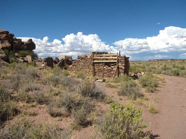 A late 19th century stage coach stop located in the park | Photo courtesy of Petrified Forest National Park
