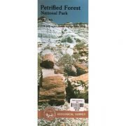 Petrified Forest National Park Topographical Map