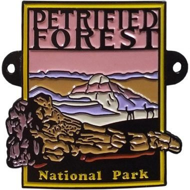 Petrified Forest National Park Hiking Medallion