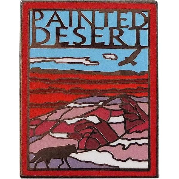 Painted Desert Lapel Pin