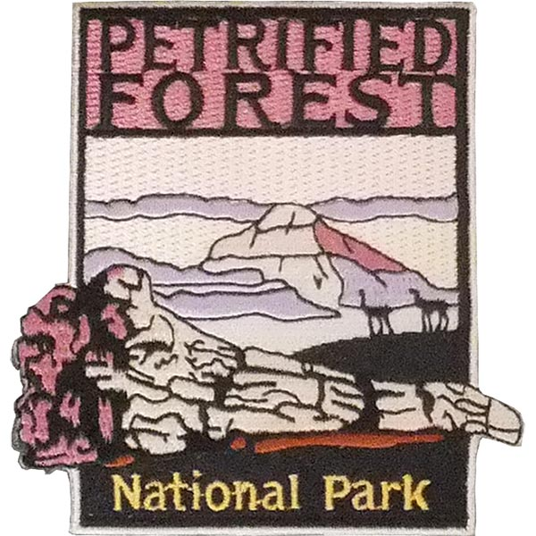 Petrified Forest National Park Patch - Sunset