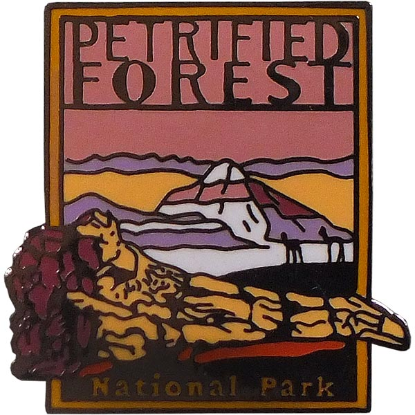 Petrified Forest National Park Lapel Pin