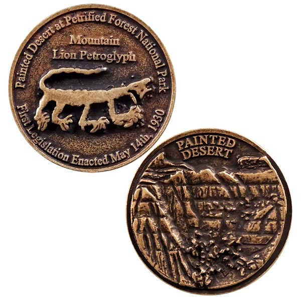 Painted Desert Collector's Medallion