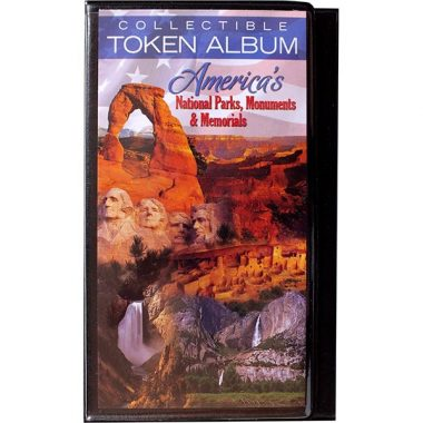 Collectible National Park Token Album