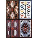 4 in 1 Sampler: Rugs of the Southwest Series