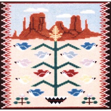 Tree of Life II: Rugs of the Southwest Series