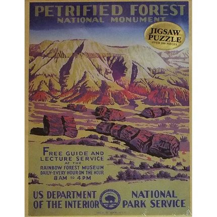 WPA Petrified Forest National Monument Jigsaw Puzzle