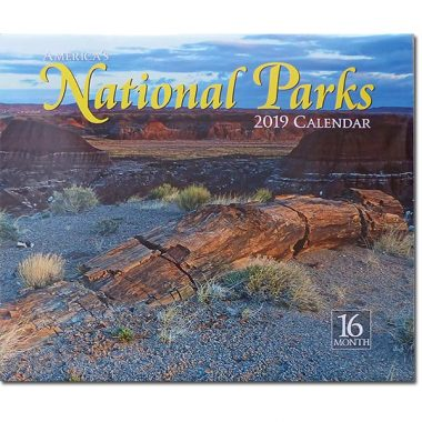 2019 National Park 16-Month Calendar