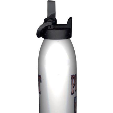 Aluminum Bottle Lid - Mouthpiece Open