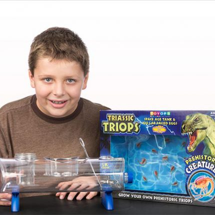 Triassic Triops Space Age Tank - Hours of fun and learning!
