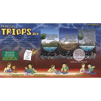 Triops Triassic DLX - back of package