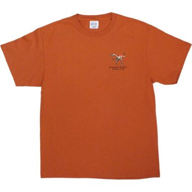 Coelophysis T-Shirt in Orange