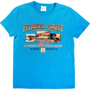 """""""So Much More Than Rocks"""" Ladies T-Shirt in Bright Blue"""