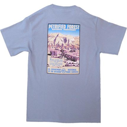 WPA Design T-Shirt Back in Sky Blue