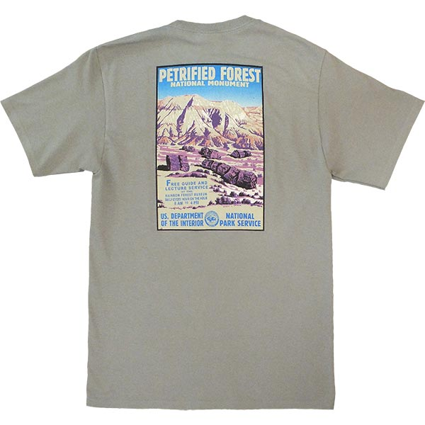 WPA Design T-Shirt Back in Sage Green