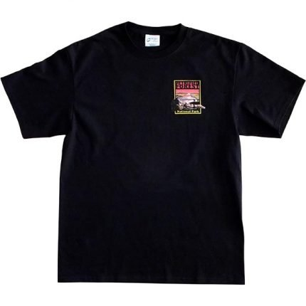 Petrified Forest T-Shirt in Black