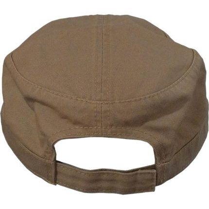 Military Cap back view