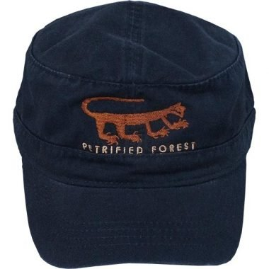 Navy Blue Military Cap