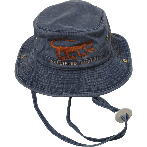 Cotton Hiker Hat in Denim Blue