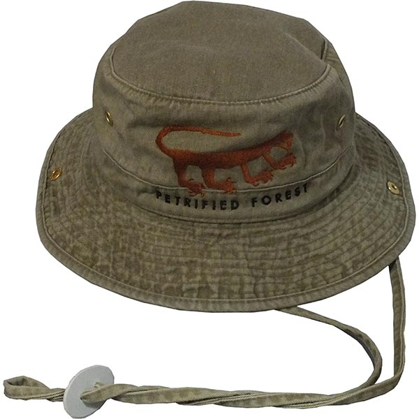 Cotton Hiker Hat in Khaki Green
