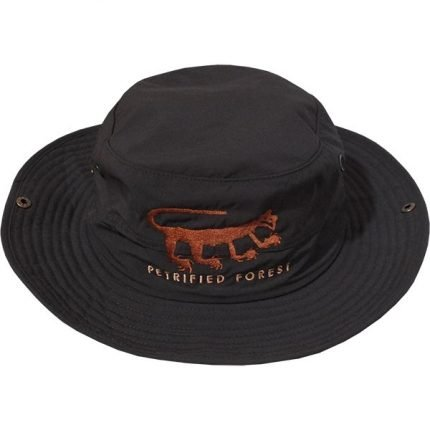 Wide Brim Wicking Hiker's Hat in Charcoal