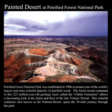 Painted Desert: Commemorative Sticker