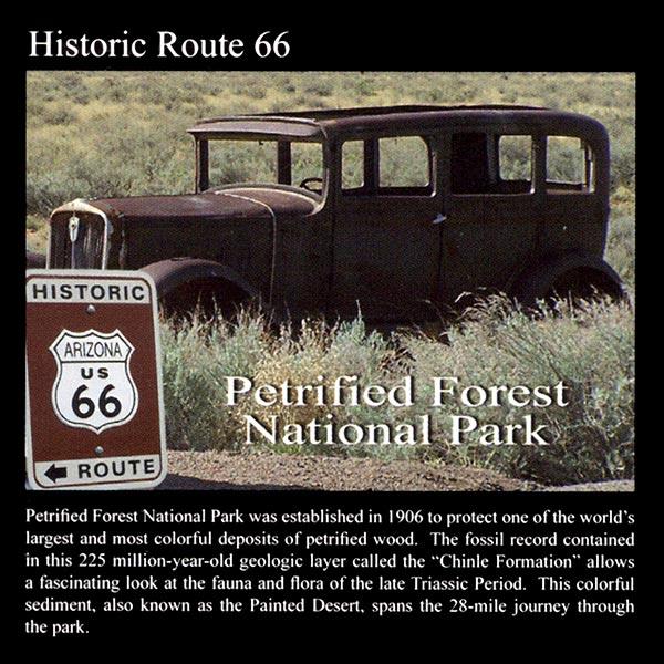 Historic Route 66: Commemorative Sticker