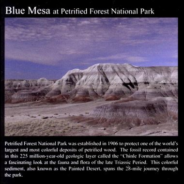 Blue Mesa: Commemorative Sticker