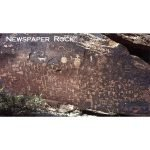 Newspaper Rock Magnet