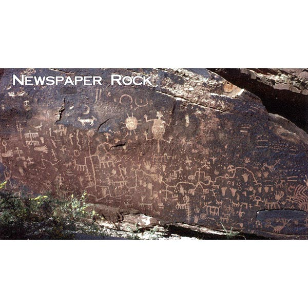 Newspaper Rock Magnet