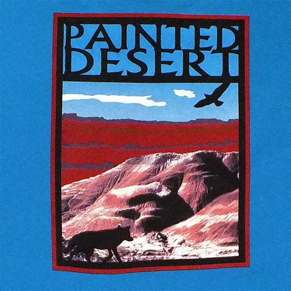 Painted Desert T-Shirt - (Close Up Logo)