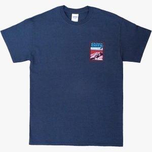 Painted Desert T-Shirt in Midnight Blue