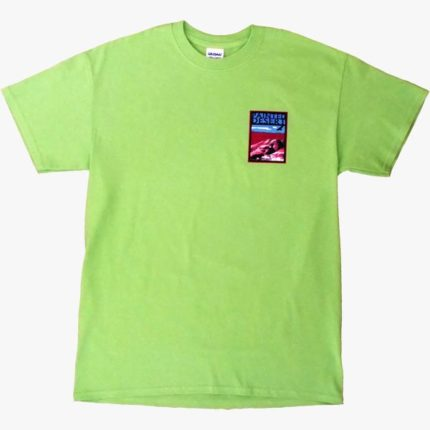 Painted Desert T-Shirt in Neon Green