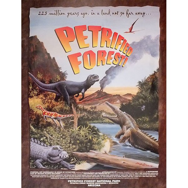 Petrified Forest Triassic Poster