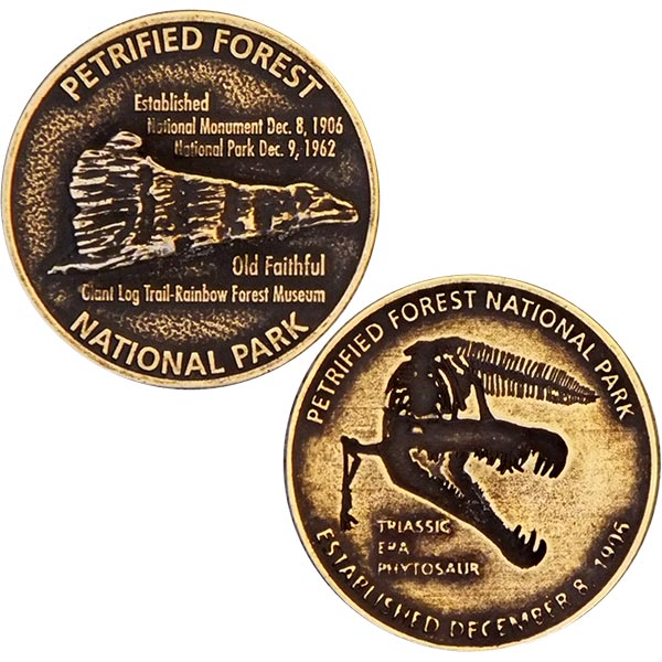 Petrified Forest Collector's Medallion